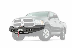 Warn Ascent Bumper 12 000 Pounds For 2013 2018 Ram 1500 100922