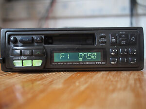 Vintage classic Alpine 7521r Car Stereo old School