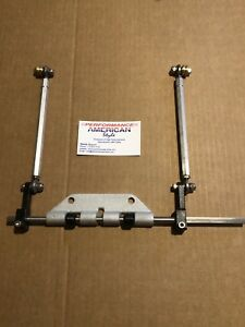New Linkage Kit For Edelbrock Weiand Offenhauser Ssmall Block Chevy Cross Ram