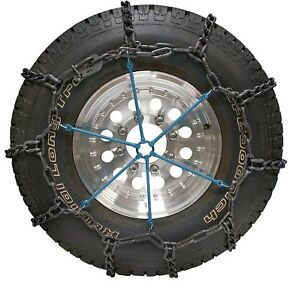 2 Truck Suv Rubber Snow Tire Heavy Duty Spider Chain Tighteners Laclede 39225