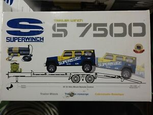 Superwinch S7500 Winch Wire Rope For Car Trailer New In Box Msrp 1000