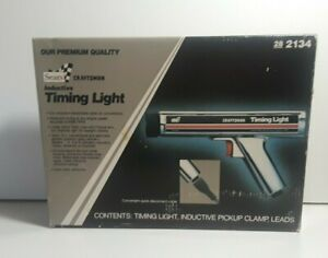 Vintage Sears Craftsman Inductive Timing Light 2134 Made In Usa New Other Read