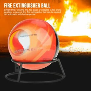Fire Extinguisher Ball Easy Throw Stop Fire Loss Tools Safety 500g With Mount