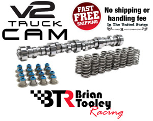 Btr Ls Truck Stage 2 V2 Cam Kit Vortec 4 8 5 3 6 0 Brian Tooley Racing Camshaft
