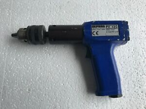 Deprag Pv13c Pneumatic Air Drill 1 2 350rpm For Honing grinding And Drilling