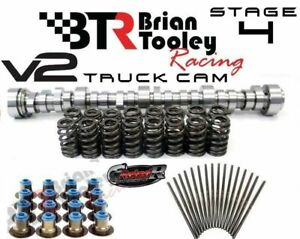 Brian Tooley Racing Btr Truck Stage 4 V2 Cam Spring Pushrod Kit Vortec 5 3 6 0