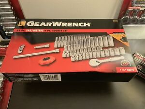 Gear Wrench Supplier 80300 51 Piece 1 4 Drive 6 Point Socket Set Best Price