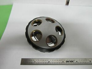 Microscope Nikon Japan Nosepiece Turret Without Optics Bin f3 45