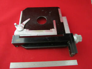 Microscope Part Stage Olympus Japan As Is 2 187