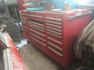 Snap On Tool Box 3 Pieces Airport Model With Spring Loaded Casters On Bottom
