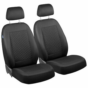 Car Seat Covers For Vw Volkswagen Fox Front Seats Deep Black