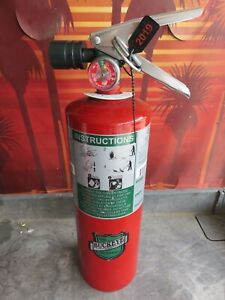 Full certified 5lb Buckeye Halotron Fire Extinguisher Xlnt Condition