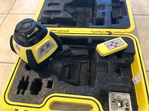 Leica Rugby 55 Rotating Laser Level Including Remote free Shipping