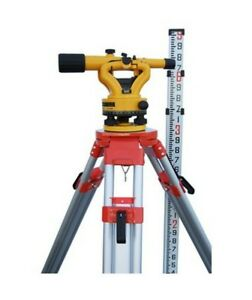Nslp500b Transit Level With Tripod And 9ft Rod