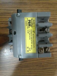 P h Magnetic Contactor Size 1