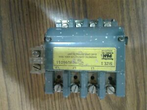 P h Magnetic Contactor 3 Phase Size 1