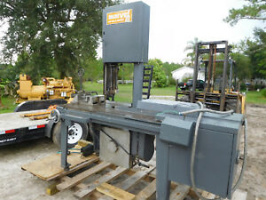 Marvel Series 8 Mark I Vertical Bandsaw With Vise