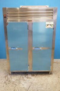 Traulsen Rht232nut fhs Stainless Steel 46 Cu Ft Two Section Refrigerator