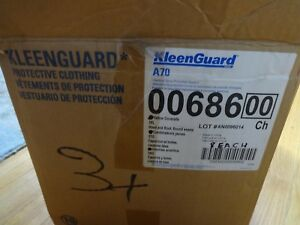 Kimberly Clark Kleen Guard A70 0068600 Full Body Coveralls Yellow Hood And Boots