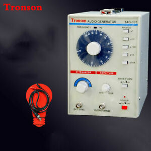 New 220v Tag 101 Low Frequency Audio Signal Generator Signal Source 10hz 1mhz