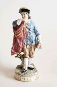 18c French Sevres Porcelain Figurine Of Gentleman