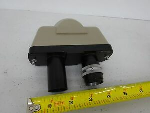 Microscope Part Vickers England Uk Head Optics Binocular As Is Bin c8 e 11