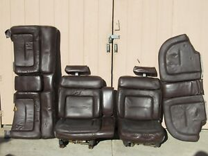 Calif 1965 1978 Gm Full size Power Bench Seat Set Chevy Pontiac Olds Buick Gm