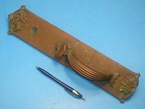 Antique Vintage Victorian 15 Thumb Latch Brass Door Handle Pull
