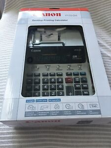 New Canon P170 dh 2 color Desktop Printing Calculator