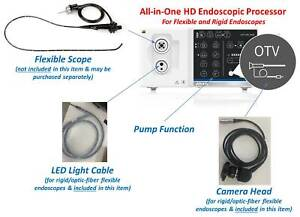 New All in one Veterinary Hd Imaging Processor For Rigid And Flexible Endoscopes