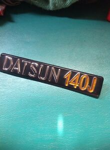 Datsun 710 Violet 140j 160j Sss Emblem Genuine Part Nos Japan