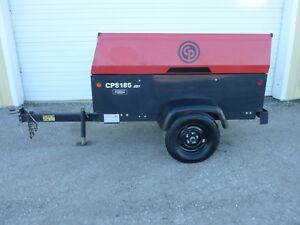 2013 Chicago Pneumatic Cps185 Portable Air Compressor 330 Hours