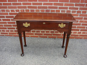 Statton Old Towne Cherry Console Table