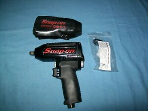 New Snap On 3 8 Drive Super Duty Magnesium Air Impact Wrench Mg325 Unused