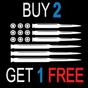 Ammo American Flag Decal Car Truck Jeep Sticker Bumper Vinyl Funny Gun 2nd Usa