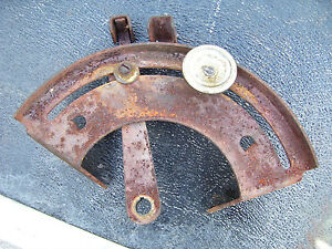 Vintage Ferguson F 40 Tractor 3 Point Draft Lever Guide 1956