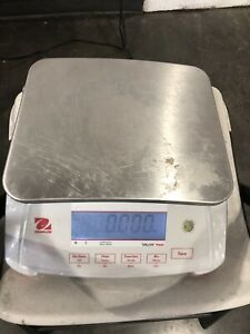 Ohaus V71p15t Valor 7000 Compact Bench Scale 30 Lb Food Scale