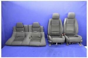 2011 2014 Ford Mustang Gt Base Cloth Oem Coupe Seats Front Rear Hot Rod Restomod