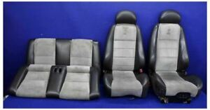 2003 2004 Ford Mustang Cobra Svt Terminator Oem Convertible Seats Front Rear