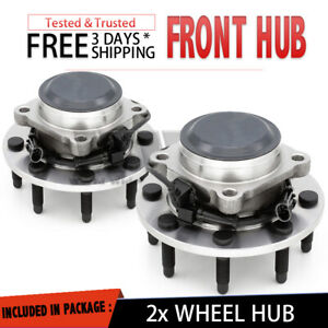 2x Front Wheel Hub Bearing For 2001 2006 Chevy Suburban 2500 rwd Ls Lt Pair