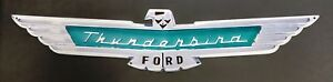 1957 Ford Thunderbird Heavy Duty Large Steel Metal Sign 48 X 10