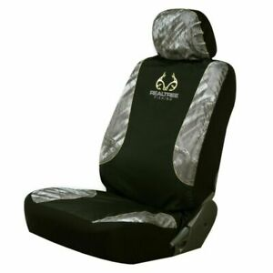 Realtree Fishing Camo Truck Car Low Back Bucket Seat Cover Outdoors lot 2