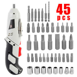New Electric Rotary Roto Hammer Drill Sds Concrete Chisel Kit W Bits New