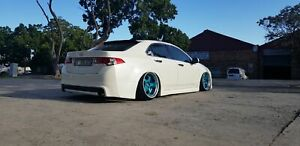 Front Rear Mugen Style Body Kit For Honda Accord 8 Cu1 Cu2 2008 2010