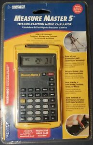 Vintage Calculated Industries Construction Master Pro 4018 es b Calculator Nib