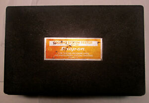 Snap on Svt262 Cooling System Tester