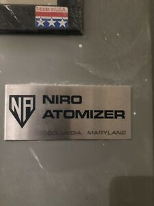 Niro Large Stainless Spray Dryer Cyclone Buffalo Ny