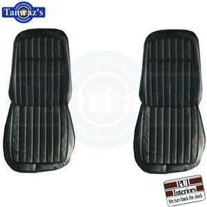 1969 Camaro Deluxe Front Seat Upholstery Covers Pui New