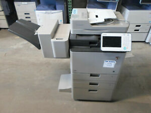 Canon Imagerunner Advance C350if Color Copier W Attached Finisher Meter 28k ct