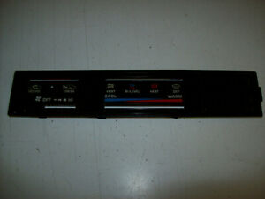 1984 1988 Toyota 4runner Pickup Truck Heater Climate Control Face Plate Cover C